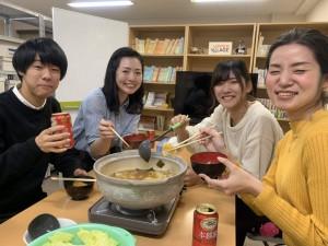 キムチ鍋de歓迎会